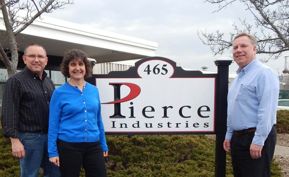 Pierce Industries new positions